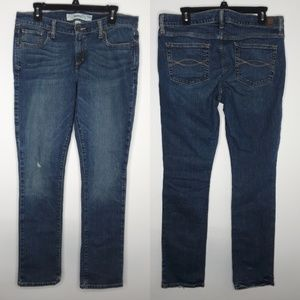 Abercrombie & Fitch distressed skinny jeans 12R